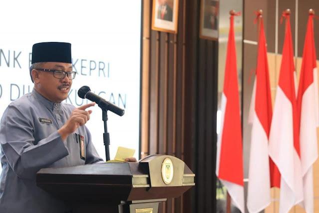 Pemko Batam Sosialisasikan QRIS Bank Riau Kepri kepada seluruh OPD