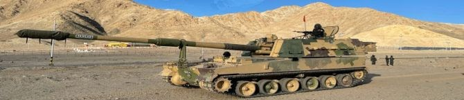 K9-Vajra Howitzer Regiment Inducted In Eastern Ladakh: Army Chief