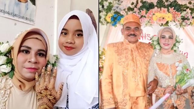 Teman Sebangku Saat SMA Jadi Ibu Tiri, Wanita ini Menikah dengan Ayah Sahabatnya