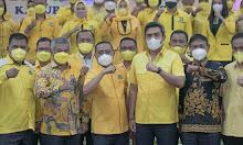 Bupati Ketapang Martin Rantan Hadiri HUT Golongan Karya Yang ke 57