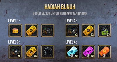 hadiah Event Chaos Attack Free Fire
