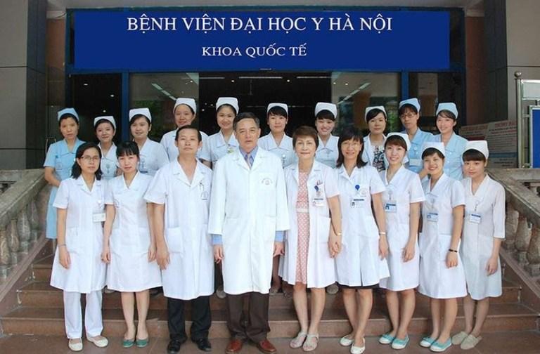 Đồng phục y tế tại bệnh viện Đại Học Y Hà Nội
