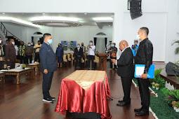Ridwan Rumasukun Resmi Jabat Sekretaris Daerah Papua