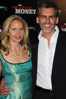 Rhonda Tollefson with her spouse Oded Fehr