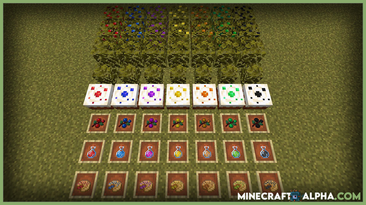 Minecraft More Berries Mod 1.17.1 (More Berrie-Foods)