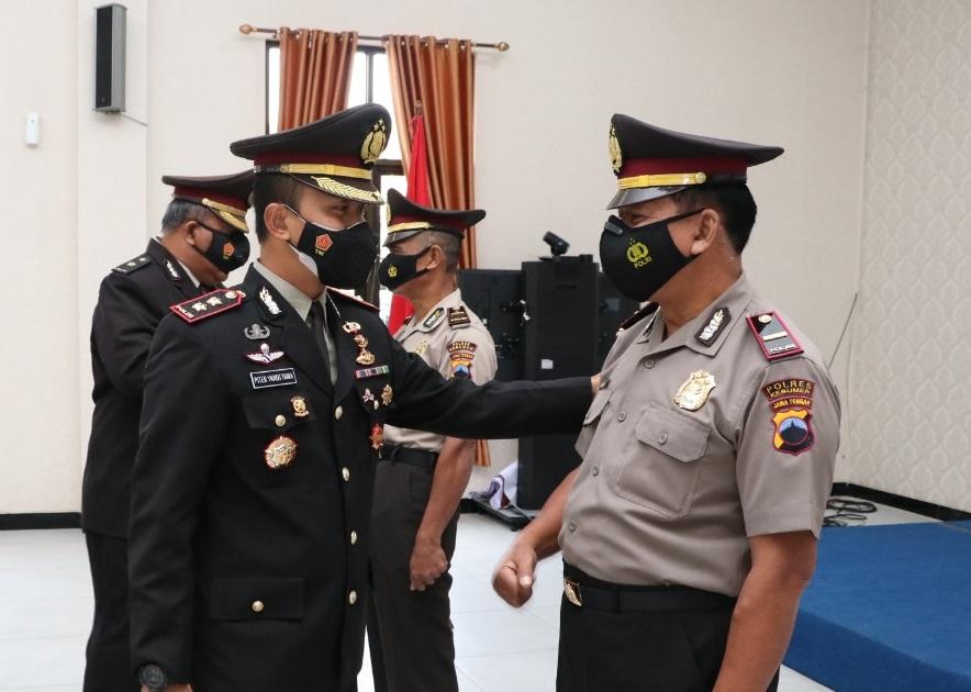 Hari Kesaktian Pancasila, Dua Polisi di Kebumen Raih Pangkat Penghargaan dari Kapolri