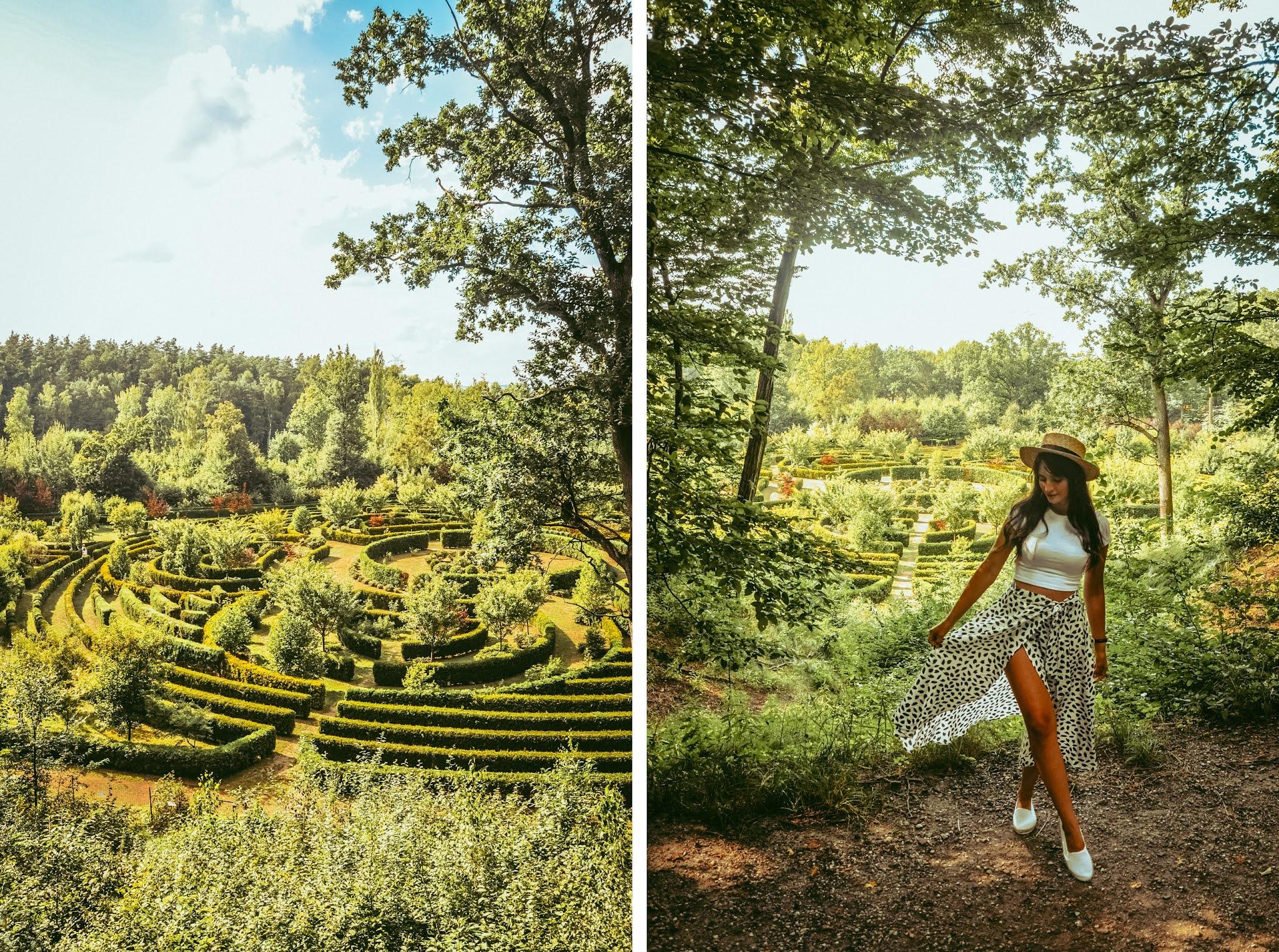 piękne ogrody na Śląsku gdzie
