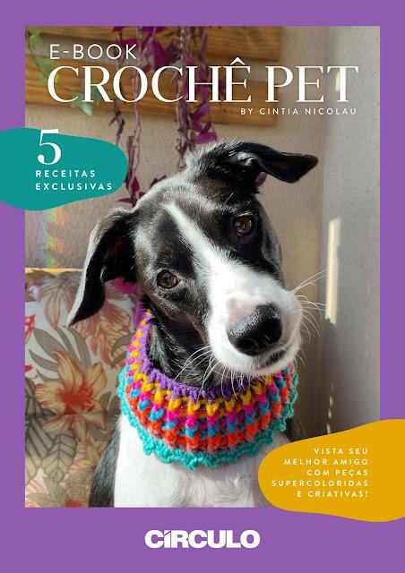 E-book Crochê Pet – 5 Receitas Exclusivas by Cintia Nicolau