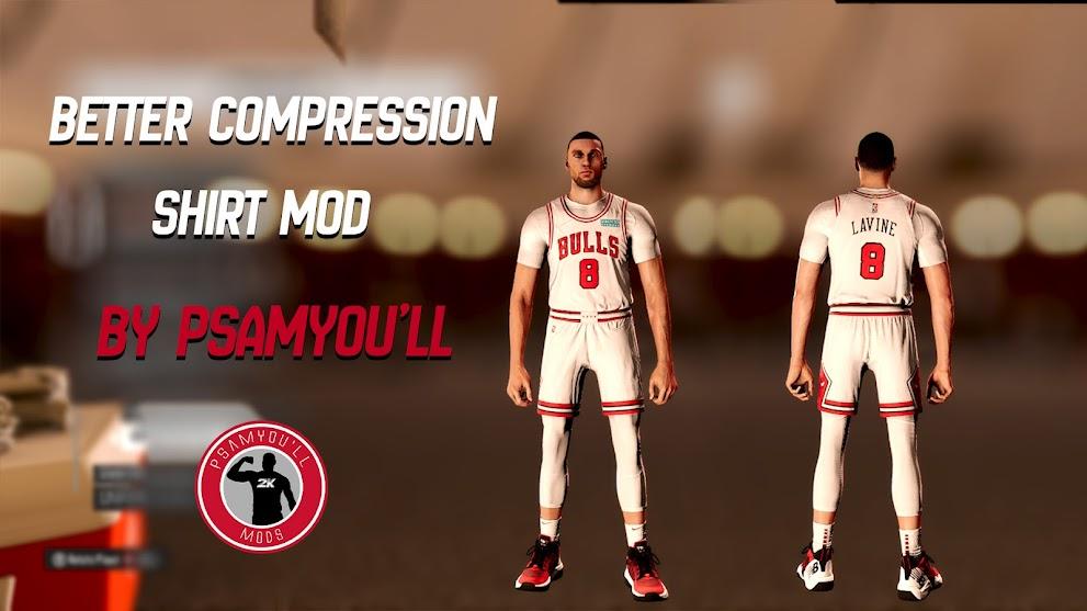 NBA 2K22 BETTER COMPRESSION SHIRT by Psamyou'll