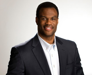 Picture of American former professional basketball player, David Robinson