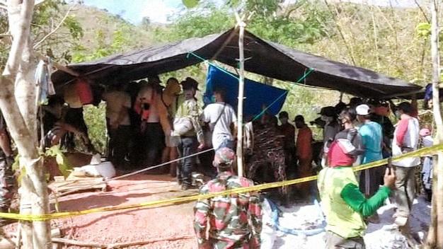 Telan korban jiwa, Polisi tutup tambang emas ilegal di Gapit