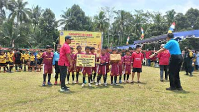 Pesat Tegalrejo Juara 3 KU 10 di Kompetisi SSB Askab PSSI Kabupaten Magelang