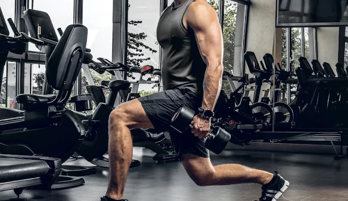 4 Lunges Exercise For Rock Hard Thigh Muscles