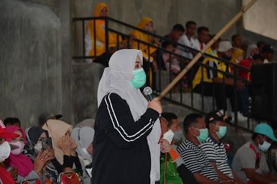 Bupati Bima membuka Kejuaraan Futsal Dikbudpora Cup 2021