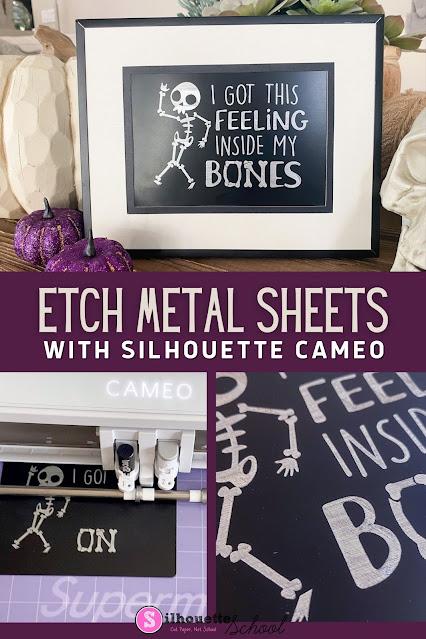 silhouette 101, silhouette america blog, engraving, metal etching, etching