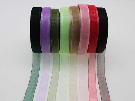Small Sheer Organza Ribbons