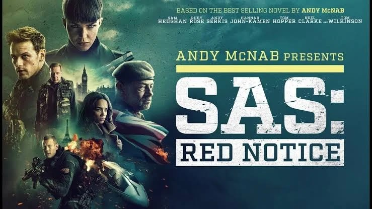 Download SAS: Red Notice (2021) HDRip Hindi Dubbed Hollywood Full HD Movie