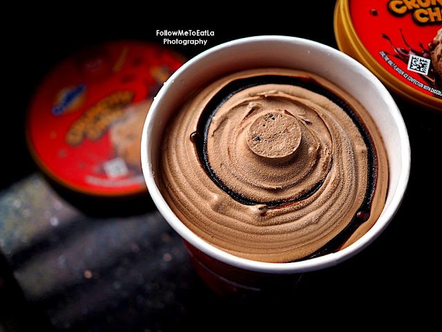 Wall's Ovaltine Crunchy Choc Ice Cream Pint Offers #CrunchyKawKaw Surprise