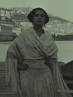 Francesca Bertini in a scene from her most successful movie, Assunta Spina