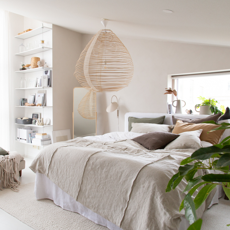 My Autumn Bedroom Make-over, Plus 20% off at Bemz!