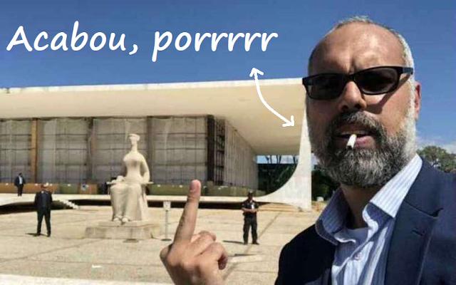 Blog Terça Livre, de Allan dos Santos, anuncia fim das atividades e sai do ar