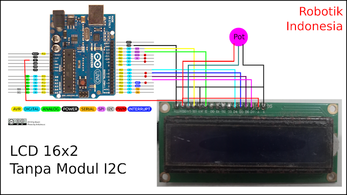 Kelebihan Menggunakan LiquidCrystal dengan Modul I2C ( LCD 16x2 / 20x4)