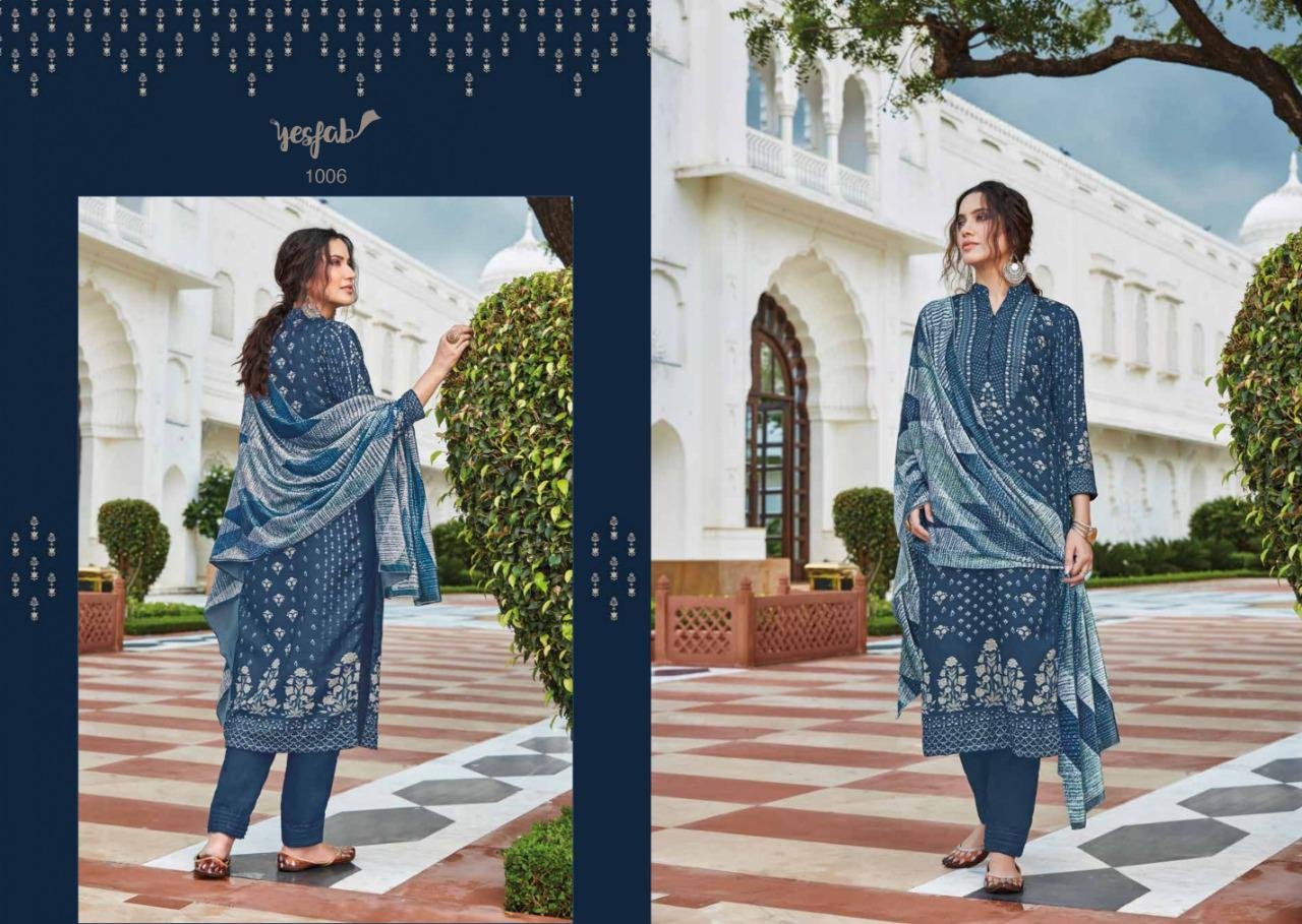 Yesfab Prussian Salwar Suits Catalog Lowest Price