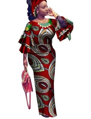 Long Ankara Gown Styles 2022