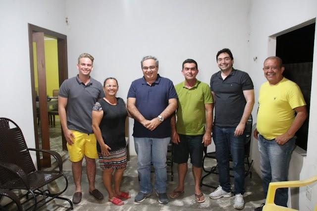 Prefeito de Ipuera, Galego Paiva e grupo político do MDB declaram apoio a Adjuto Dias