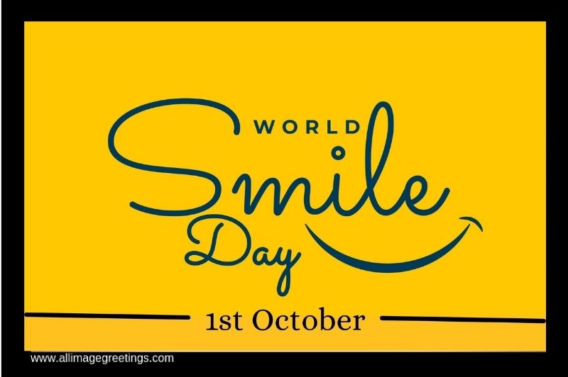 world smile day wishing messages