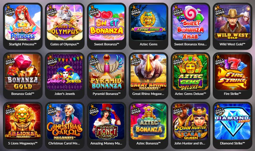 Daftar game slot pragmatic