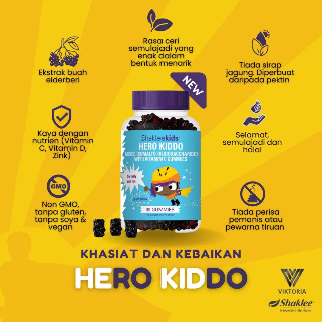 Produk Baru Shaklee untuk Kanak-Kanak Hero Kiddo Shaklee untuk Anak Picky-Eater