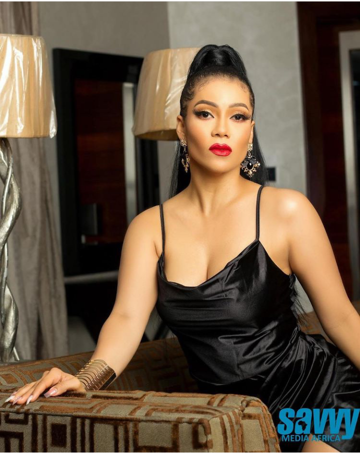 BBNaija: Maria becomes the cover girl for Savvy 11th edition (See pictures)