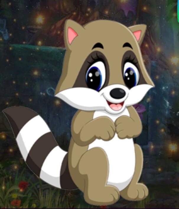 Games4King Baby Raccoon E…
