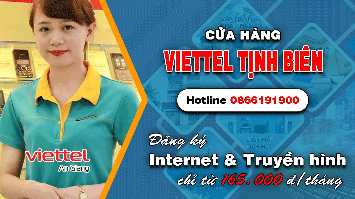 Cửa hàng Viettel Tịnh Biên An Giang