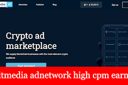 Bitmedia.io adnetwork high cpm