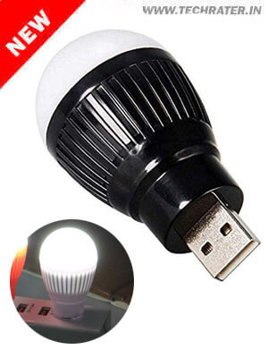 Mini USB LED light bulb