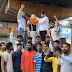 खुला जेल का फाटक,भारत माता का जयकारा लगाते निकले सेनानी