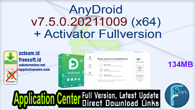 AnyDroid v7.5.0.20211009 (x64) + Activator Fullversion