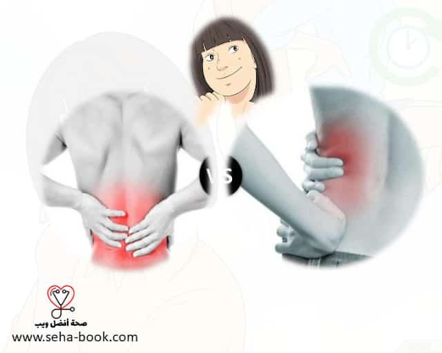 الفرق بين ألم أسفل الظهر وألم الكلى