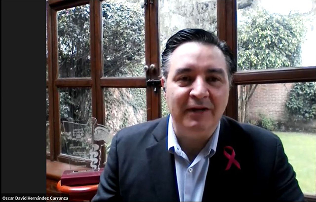 .- Oscar David Hernández Carranza, presidente de Premio Nacional de Salud, AC.