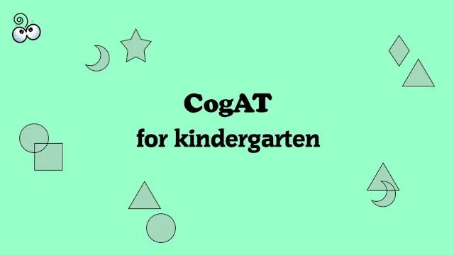what-is-kindergarten-cogat