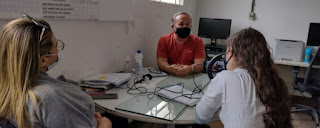 Professores e estudantes da 4ª GE de Educação deram início gravações de documentários em comemoração ao Centenário de Felipe Tiago Gomes