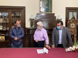 Υπεγράφη η σύμβαση για την β' φάση ανακατασκευής της οδού Πανεπιστημίου