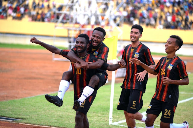 Tim Sepakbola Putra Papua Kalahkan NTT 4-0, Lolos ke Babak 6 Besar.lelemuku.com.jpg