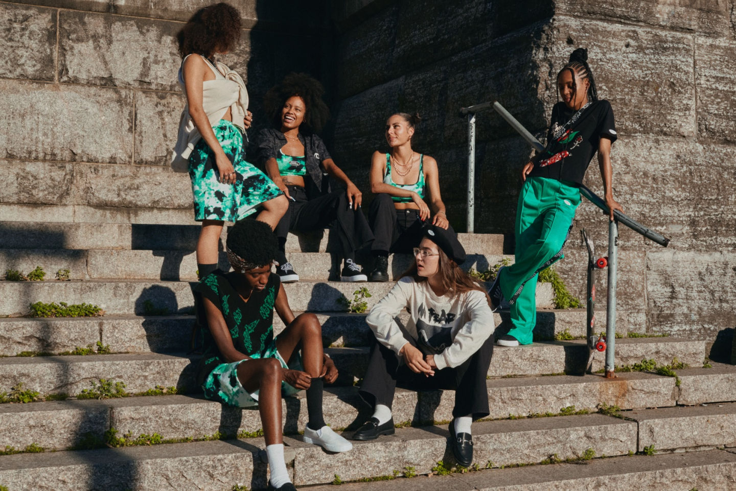 H&M x No Fear and The Skate Kitchen Capsule Collection