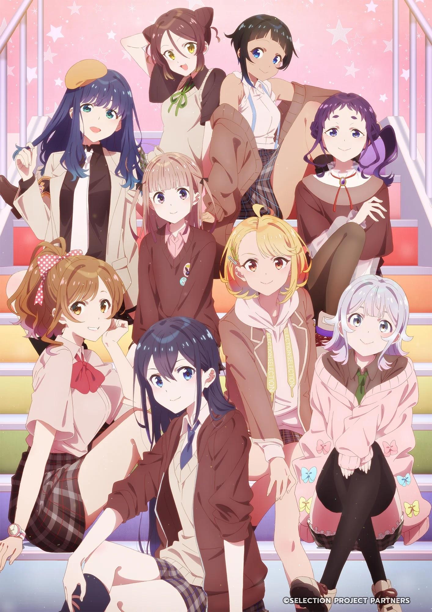 O Anime Original SELECTION PROJECT terá 12 episódios