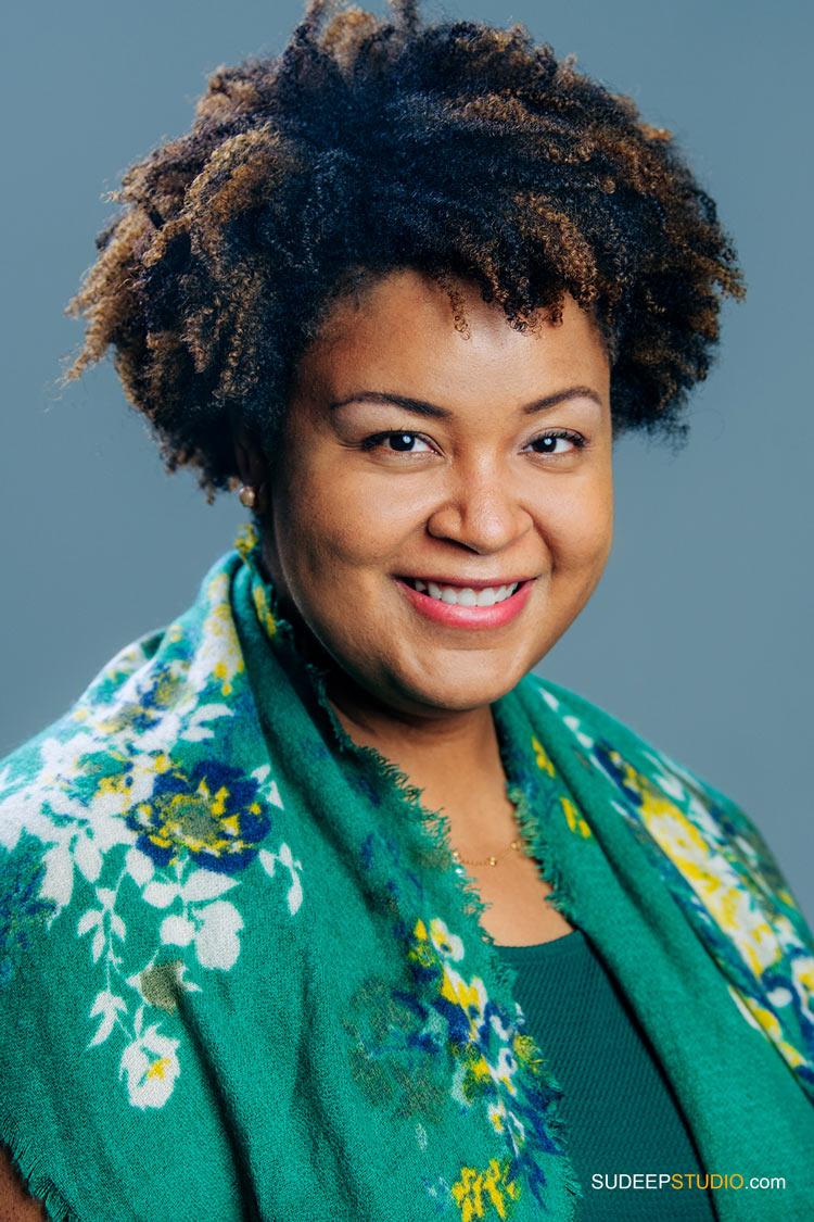 Professional Portraits for Writer Author Black Business Communicator SudeepStudio.com Ann Arbor Author Headshot Photographer
