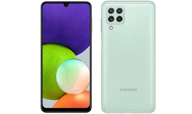 سعر ومواصفات Samsung Galaxy A22 بمعالج Helio G80 وشاشة سوبر أموليد