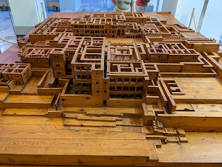 Palace of Knossos - model of the palace.